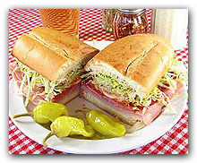 Wide selection of Sub Sandwiches at Two Brothers